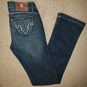 Antik Denim Western Bootcut Jeans 27